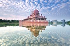 Putrajaya Mosque, Malaysia. (Nora Carol) Tags: putrajayamosque malaysia putrajayamosquemalaysia