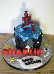 Spiderman cake (rachelmanningcakes1) Tags: cake spiderman