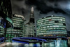 The Shard (Leandro Miguel Soares Andrade) Tags: city london night buildings photography theshard