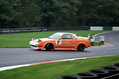 Rollercoaster (4oClock) Tags: auto park uk two england irish orange white green wet car sport corner japanese nikon mr 1st britain spin north halls first 7 360 racing september lincolnshire east 180 toyota series motor moment nikkor dslr generation nineties 1990s 90s mr2 damp motorsport drizzle autosport 18105 cadwell spun 2014 bends oversteer d90 brcss youririshshopcom