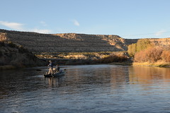 Green Ribbon (Craig Waythomas) Tags: flyfishing san juan raft desert river