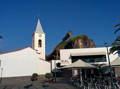 Câmara de Lobos (CarlosLuso) Tags: madeira portugal summer blue sky câmara lobos chamber wolfs landscape church religion