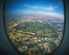 Aircraft illuminator window view, Bangkok ,Thailand (marozn) Tags: aerial air aircraft airliner airplane altitude atmosphere aviation cloud cloudscape day earth fields flight fly france geometry green ground height high horizon horizontal journey land landscape machine nature nobody plane stratosphere topography tranquil transport transportation travel trip vehicle view wing window illuminator bangkok thailand flying many houses street park asia