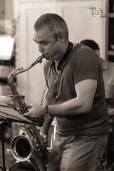 20161012-204336 (cmxcix) Tags: curlyphotography jazz music nikon nikond750 nikonfx originaljazz petarmomchev teahouse wednesdayjazz indoors sofia sofiacity bulgaria bg