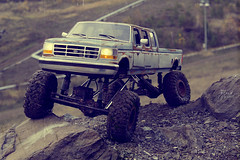 Ford F-350 6-door crawler 05 (My Scale Passion) Tags: ford f350 6door longbed long longesttruck unique 1992 custom build scale rc modeling styrene hardbody truck crawling crawler axial wraith scx10 vintage old retro scratch rockcrawling wide stretched climbing lifted double doublecab dual dualmotor classic 110 18 tekin exceed madtorque maxstone autumn