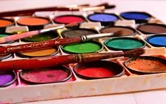 The joy of colours (Zsofia Nagy) Tags: 7daysofshooting week13 art wornandweatheredthursday colors paintbrush d3100 depthoffield dof ourdailychallenge