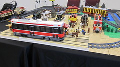 Steampunk Junction Lego Streetcars (Lets go fly a kite2010) Tags: lego streetcar