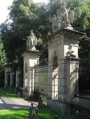 [44900] Rufford Abbey : Western Gates (Budby) Tags: rufford nottinghamshire abbey victorian gates