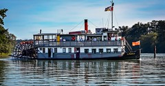 Rollin' on the Fraser River   (Images by Christie  Happy Clicks for) Tags: bc canada fraserriver sternwheeler paddlewheeler britishcolumbia nikon d5200
