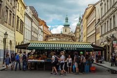 Market in Prague (littlelionman97) Tags: market prague czech repubic ceska republika europe europa markt summer sommer zomer centre center city stadt stad food color colour pentax k50 pentaxk50