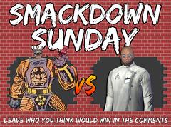 Smackdown Sunday- Arnim Zola VS Hugo Strange (Luigi Fan) Tags: marvel dc comics arnim zola vs hugo strange