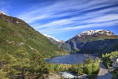 082210_AB_5103 (aud.watson) Tags: europe norway sunnmoreregion geirangerfjorden fjord waterfalls water mountains geiranger cruiseship