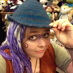 Photo (Thunder Jay Studio) Tags: ifttt instagram thunderjaystudio ferret has her hat warpaint today look out faeriecont2016 magic huldra ladytroll elfieselfie comebuystuff goodmorning folklore faery fairytale