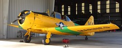 North American AT-6 Texan (jmaxtours) Tags: northamericanaviation at6 at6texan harvard yellow kissimmeeairmuseum marines warbirds ad w warbirdadventures texan