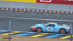 Gulf (BenGPhotos) Tags: 2016 car event le mans 24 hours 24h du blue orange american ford gt heritage edition gulf supercar sports fast exotic rare outdoor sport auto