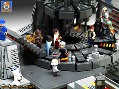BESPIN WORLD FREEZE CHAMBER (baronsat) Tags: lego bespin freeze chamber kenner micro collection custom model
