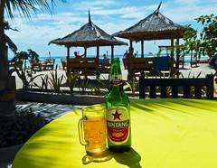 Bintang (TwilightCalzone) Tags: beer bintang bali indonesia gili beach ocean tiki