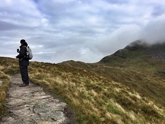 Where are we? Matt checks the GPS (barronr) Tags: scotland lochlomondthetrossachsnationalpark benlomond theptarmigan