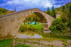 Castel del Rio (BO), 2016, Il Ponte Alidosi e il fiume Santerno. (Fiore S. Barbato) Tags: fiume santerno ponte alidosi schiena asino italy emilia romagna emiliaromagna