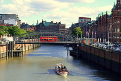 Hamburg (Germany) (jens_helmecke) Tags: hamburg stadt hansestadt city water kanal brcke bridge nikon jens helmecke deutschland germany