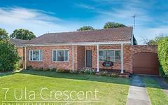 7 Ula Crescent, Baulkham Hills NSW