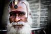 Baba/Sadhu (Tommaso Meli) Tags: sadhu baba india chennai mylapore hindu hinduism holi holyman southindia southasia streetportrait ritratto madras tamil tamilnadu reportage tommasomeli photography