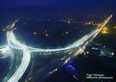 Night View of Bab-e-Peshawar Flyover, Hayatabad #Peshawar .. #Pekhawar #Pakistan #PeshawarCity  #PekhawarKhoPekhawarDeKana (PeshawarX) Tags: peshawar pekhawar peshawarcity pakistan pekhawarkhopekhawardekana