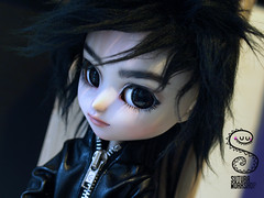 Ryuzaki chibi (Nepenthe (Sutura Workshop) - NEW ACCOUNT!) Tags: ryuzaki isul sutura suturaworkshop nepenthe miokit doll ooak custom custo chips eyebrows eyes eyelids encargo faceup groove hair jacket lips lids makeup mueca maquillaje male natural plastic realistic taeyang wig fur glasschips commission