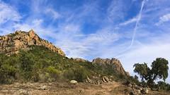 Rocher de Roquebrune, massif des Maures, south of France. (Claude Jenkins) Tags: frenchriviera red rouge rochers rocks massifdesmaures lestroiscroix nikon d750