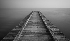 Il molo (Agnolo) Tags: nikon d7100 nikkor 1685 biancoenero blackandwhite mare sea molo jesolo