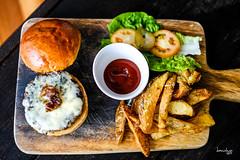 Burger & Fries 1 (Daniel Y. Go) Tags: fuji fujixpro2 xpro2 philippines