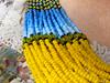 Yellow/Blue Ukrainian Beads Neclace (Seed Bead Necklace) Tags: handmade handmadejewelry handmadegifts holidaygift handcrafted holidayjewelry shopping etsyshop etsy etsymntt jewelryonetsy beadednecklace ukrainian ukrainianjewelry ukrainiannecklace yellowblue