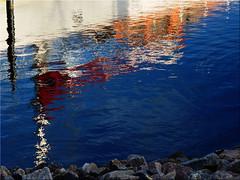 Reflections on the water (Ostseetroll) Tags: deu deutschland geo:lat=5437365849 geo:lon=1098295927 geotagged schleswigholstein hafen port spiegelungen reflections ostsee balticsea wasser water heiligenhafen