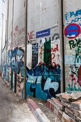 Wall Street (davidthegray) Tags: palestine french street jetaime bethlehem graffiti wall prison israel ilove