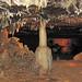 Travertine column (Ohio Caverns, western Ohio, USA) 1