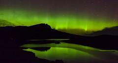 Aurora Borealis over the Storr (BardickMusic) Tags: auroraborealis aurora borealis skye oldmanodstorr lochfada trotternish northernlights thestorr daveconnor canon canon5dmk2 canon1740mm