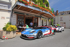 Hotel De France. (Florian Joly Photography) Tags: supercars money luxury sexy hot dream carporn wow cool flickercar hypercar florian joly 2016 ford gt gt40 ecoboots v6 hotel de france le mans classic combo history racecar