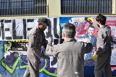 Re-ao Pblica XV (Centro de Desintoxicao Miditica) Tags: grupocdm cdm pelotas arteurbana intervenourbana streetart lambelambe