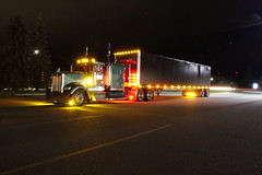 Nelson (jr-transport) Tags: nelson minnesota kenworth w900 custom w900l deck curtainside lights chickenlights