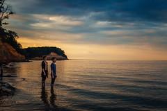 (Steven Sites) Tags: canon eos 5d mark iii sigma 50mm f14 sunset maryland md ocean bay chesapeake men boy boys man guy guys gay twink lgbt calvert cliffs park