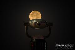 Super Moon (Connar L'Ecuyer) Tags: socal night cityscape astrophotography wharf city moon space santamonica la supermoon beach ocean seascape landscape pier sea