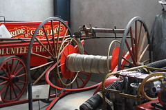 Geraldine Hose Reel (ambodavenz) Tags: geraldine hose reel volunteer fire brigade vintage car machinery museum crank up south canterbury new zealand