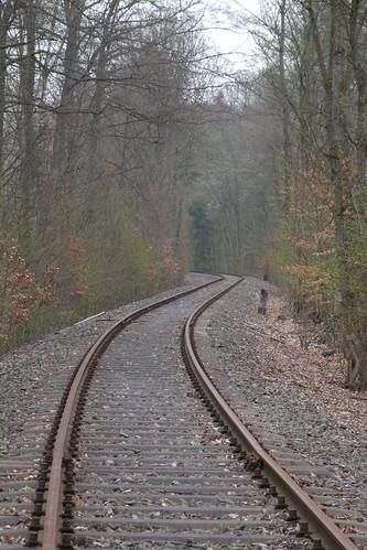 Railway track, 06.04.2012.