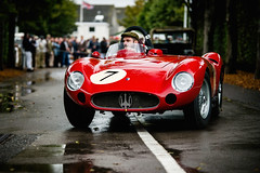 Scuderia del Viadotto and Conrad Ulrich - 1955 Maserati 300S at the 2016 Goodwood Revival (Photo 1) (Dave Adams Automotive Images) Tags: 2016 9thto11th autosport car cars circuit daai daveadams daveadamsautomotiveimages grrc glover goodwood goodwoodrevival hscc historicsportscarclub iamnikon lavant motorrace motorracing motorsport nikkor nikon period racing revival september sussex track vscc vintage vintagesportscarclub davedaaicouk wwwdaaicouk scuderiadelviadotto conradulrich 1955maserati300s 1955 maserati 300s carrollshelby johnedgar katherinemcclure kylefleming