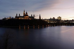 All Earthly Things Above (n2chang) Tags: canada parliament ottawa ontario dusk river winter