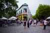 Caminito in La Boca, Argentina. (Carlos Vieira.) Tags: caminito laboca buenosaires argentina colorfulhouses peaple streetshot