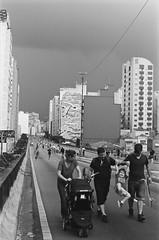#2410 - Minhoco, sp (vintequatro10) Tags: rua streetphotography streetphotographer fotografiaderua fotografiadocumental parque elevadocostaesilva minhoco sp sampa sopaulo pb bw blackandwhite pretoebranco 2410 vintequatro10 pentaxkm 50mm 35mmfilm analgica analog analogic arquitetura graffiti grafite arte criana kid kodaktmax analogue