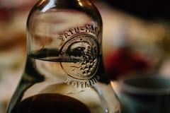 Satu-Mare Plinc, Romnia (Kwame Busia) Tags: satumare romania palinca drink bottle closeup macro 58mm helios 442 glass bokeh
