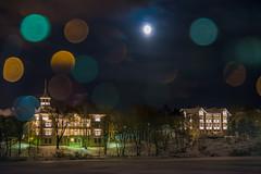 City Lights 90 (pni) Tags: linnunlaulu fgelsng bokeh light bubble moon sky water tlnlahti tlviken multiexposure multipleexposure tripleexposure helsinki helsingfors finland suomi pekkanikrus skrubu pni