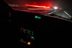 IMG_5544 (dcdnc) Tags: night long road autobahn shades turn light monochrome portrait speed car